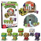 NEW TMNT Teenage Mutant Ninja Turtles Papercraft Playset Funko Boxos